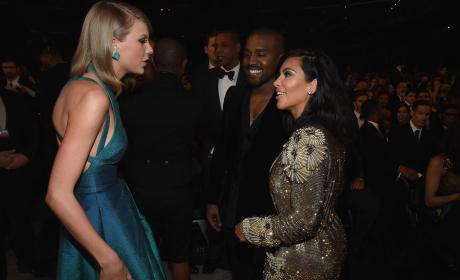 Taylor Swift to Kim Kardashian and Kanye West: LEAVE ME ALONE!