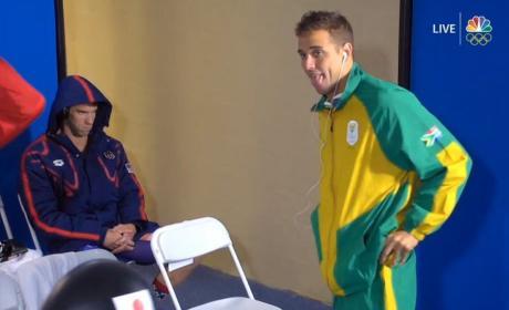 Michael Phelps: #PhelpsFace