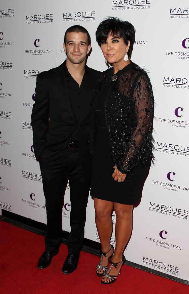 Mark Ballas and Kris Jenner