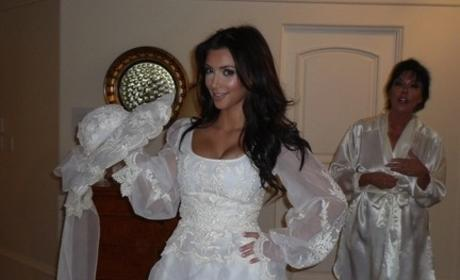 Kim Kardashian Has a Message for Reggie Bush