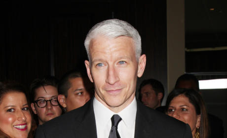 Anderson Cooper at the Daytime Emmys