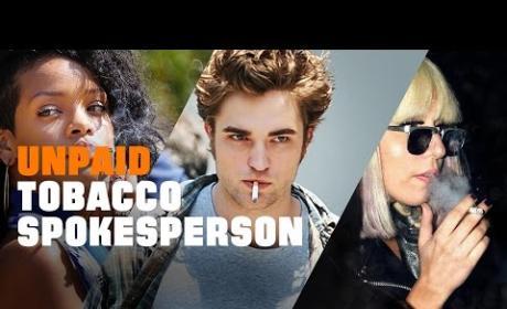 Anti-Smoking PSA Slams Celebrities