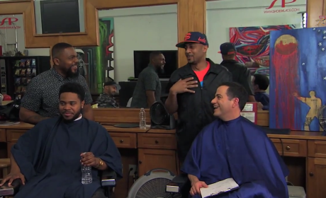 Jimmy Kimmel Gauges Donald Sterling Reaction in Barbershop, Talks Side Chicks and Racism Rehab