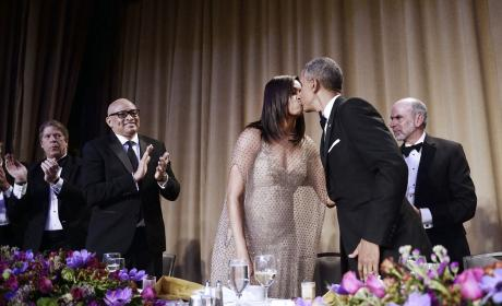 Obamas at 2016 White House Correspondents Dinner