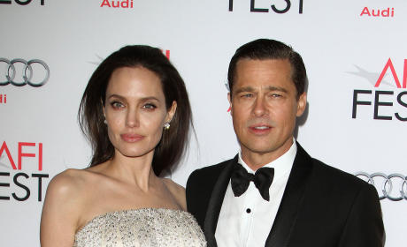 Angelina Jolie Fires Nanny After Catching Brad Pitt Flirting?!
