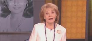 Barbara Walters Signs Off