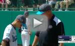 Coach Delivers Emotional Pep Talk to Young Pitcher