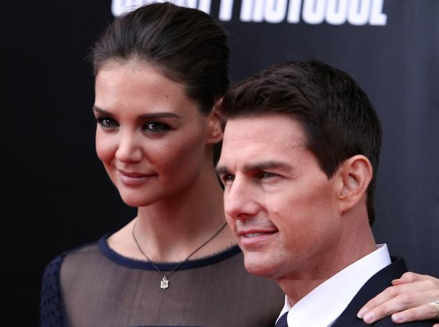Katie Holmes and Tom Cruise Picture