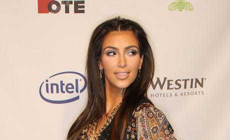 Kim Kardashian: 2008 'Rock The Vote' Party