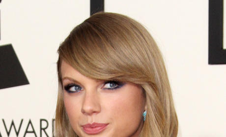 Taylor Swift at Grammy Awards