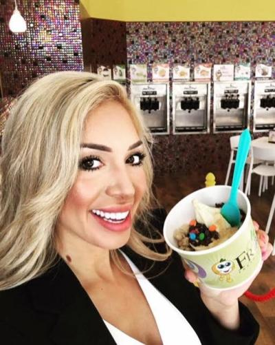 Farrah Abraham: Blonde on Faceobook