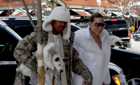 Mariah Carey and Nick Cannon Photo