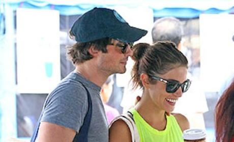 Ian Somerhalder and Nikki Reed: Dating?