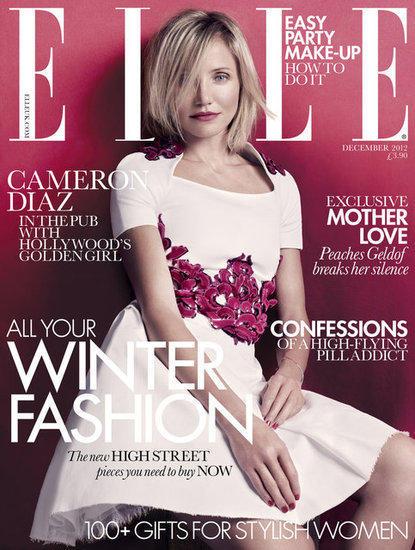 Cameron Diaz Elle Cover