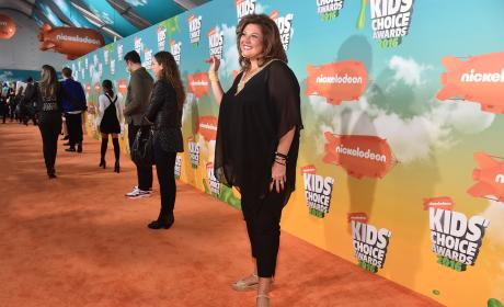 Abby Lee Miller on the Red Carpet
