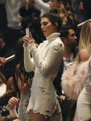 Kendall Jenner in Yeezy Season 3