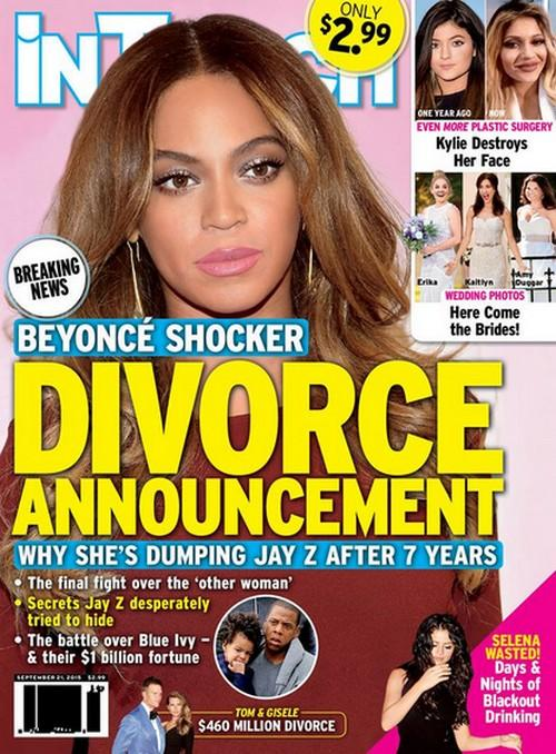 Beyonce Divorce Rumors Heat Up Again Singer Planning To