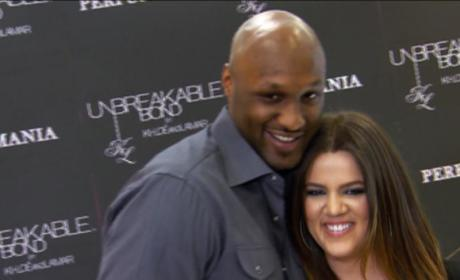 Lamar Odom: Upbeat, Looking Healthy, Acting Normal?