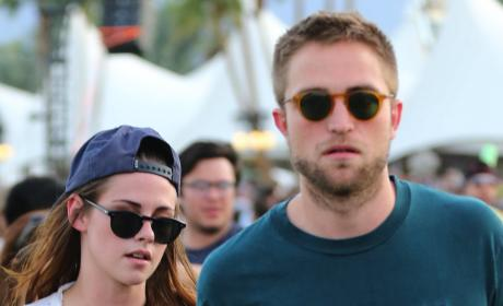 Robert Pattinson, Kristen Stewart at Coachella