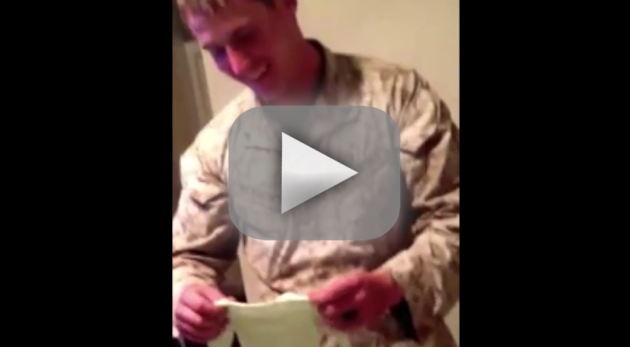 Marine's Wife Reveals She's Pregnant