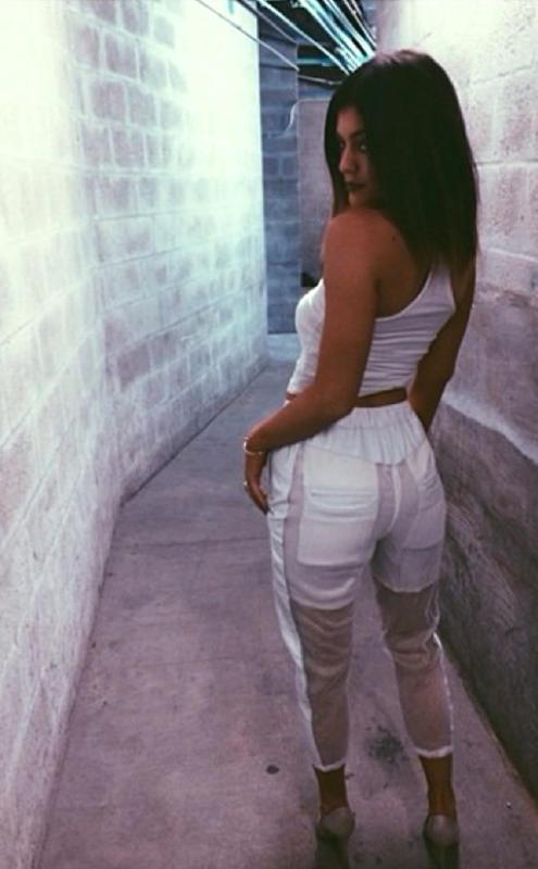Kylie Jenner Butt Selfie