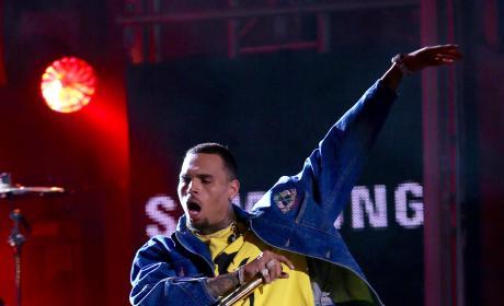 Chris Brown: Jimmy Kimmel Live! Performance