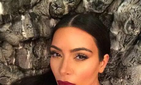 Kim Kardashian on Kontroversial Pregnancy Komment: Just Kidding!!!