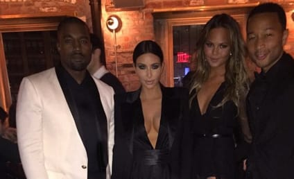 Kimye and Leigen Celebrate John Legend's Birthday in NYC