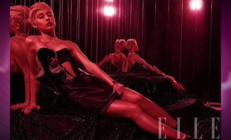 Miley Cyrus in Elle: The Photos