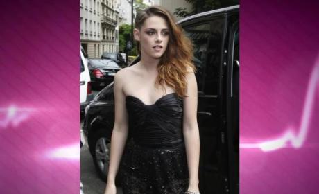 Kristen Stewart: Crying Over Robert Pattinson?