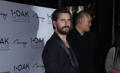 Scott Disick on a Red Carpet