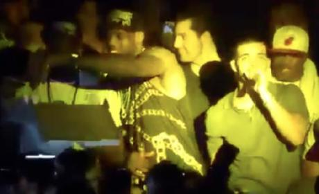 Drake Denied Entry to Miami Heat Locker Room, Parties With Team Later at Club