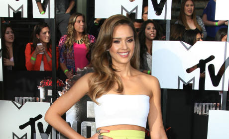 Jessica Alba at MTV Movie Awards
