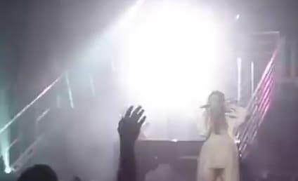 Demi Lovato Moves Like Jagger in Detroit