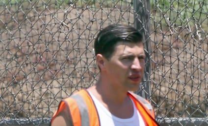 Vitalii Sediuk, Brad Pitt Red Carpet Attacker, Wears Brad Pitt Shirt for Community Service
