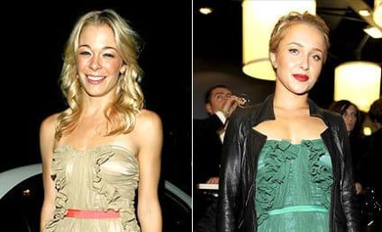 Celebrity Style Showdown: LeAnn Rimes vs. Hayden Panettiere