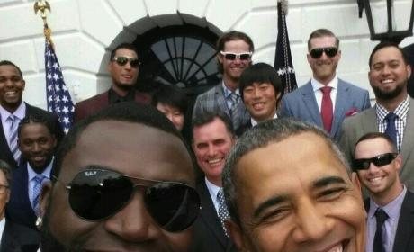 David Ortiz-Barack Obama Selfie: Samsung Product Placement Alert!