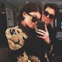 Kylie and Kris Selfie