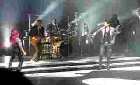 A Rockin, Slow Ride for Adam Lambert and Allison Iraheta