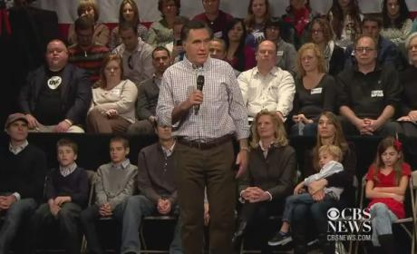 Mitt Romney Takes Heat For Pink Slip Comment
