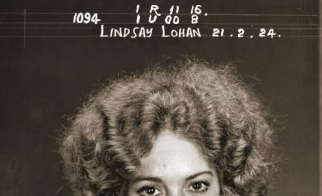 Old Lindsay Lohan Mug Shot