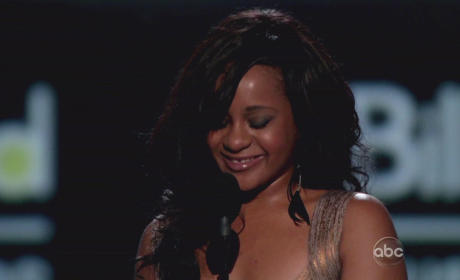 Bobbi Kristina Brown on Stage
