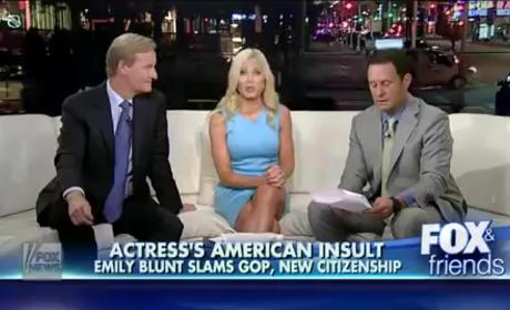 Fox & Friends to Emily Blunt: Go Back to Great Britain!