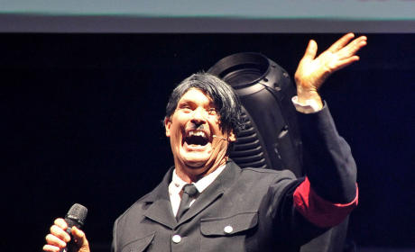 Should David Hasselhoff have dressed as Hitler for a show in London?