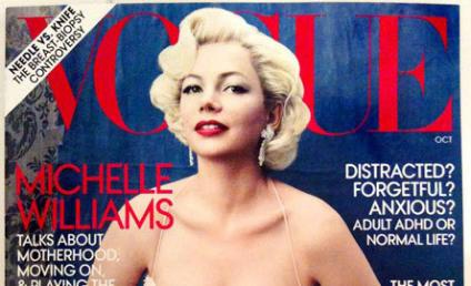 Michelle Williams Makes Like Marilyn Monroe
