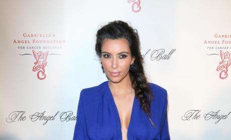 Kim Kardashian: Angel Ball 2012