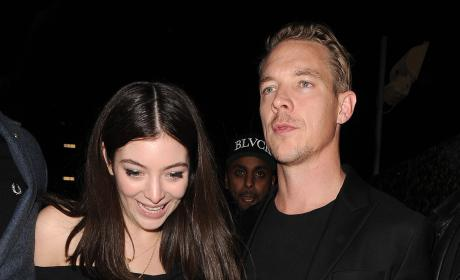 Lorde and Diplo: Dating?!