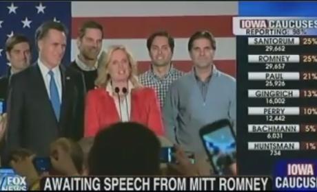 Mitt Romney Iowa Caucus Speech