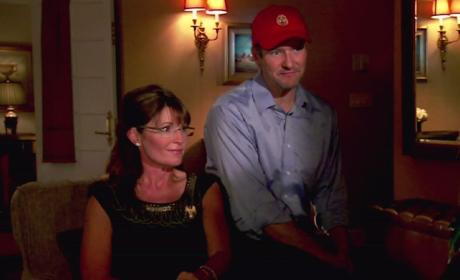 Todd and Sarah Palin Picture