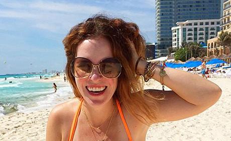 Rachel Hollis Bikini Photo